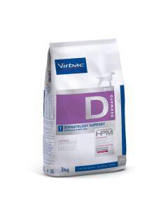 Virbac HPM Dog  Dermatology Support 3Kg