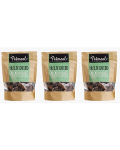 Petmeal Natural Snacks Chicken Hearts Combo x 3