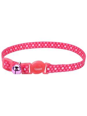 Coastal collar gato fashion polka rosado - Ciudaddemascotas.com