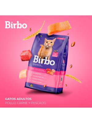 Birbo Cat Adulto Pollo Carne y Pescado 7 kg - Ciudaddemascotas.com