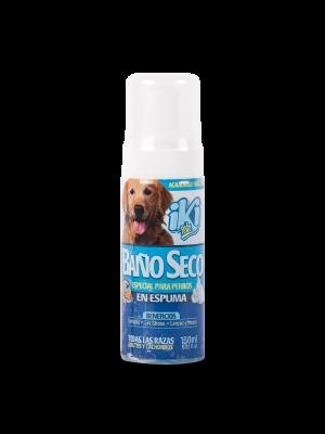Iki Pets Baño Seco Espuma Perros 150 ml