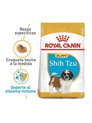 Comida Royal Canin Shih Tzu Puppy 1.13 Kg - Ciudaddemascotas.com