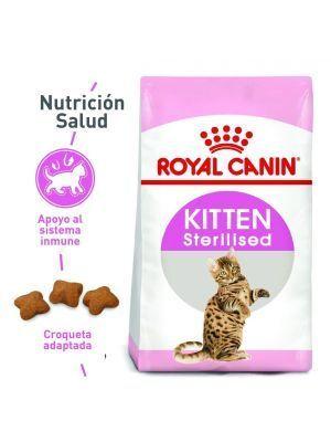 Comida para gato Royal Canin kitten esterilizado-Ciudaddemascotas
