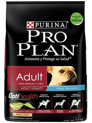 Comida Pro plan Adult Small Breed 7,5 Kg - ciudaddemascotas.com