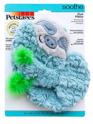 Petstages gato peluche purr pillow