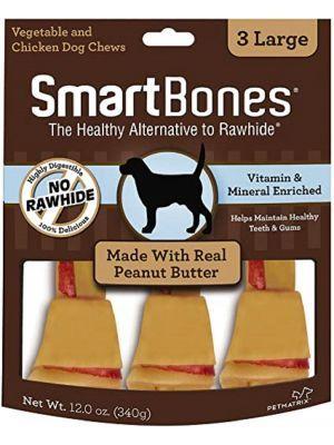 Smartbones Peanut Butter Large x 3 Piezas