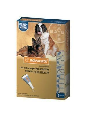 Advocate Pipeta para Perros entre los 25 kg y 40 kg