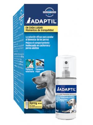 Adaptil Spray tranquilizante para perros x 60 ml - Ciudaddemascotas.com
