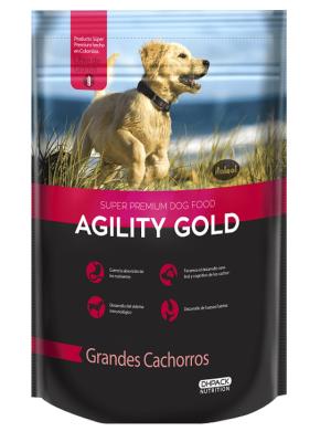 Comida Perro Agility Gold Puppy Large Breed-Ciudaddemascotas.com