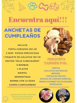 Bon Ami ancheta de cumpleaños Azul - ciudaddemascotas.com