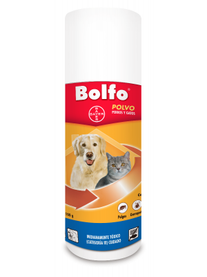 Talco Bolfo Polvo para Perros y Gatos 100 gr - Ciudaddemascotas.com