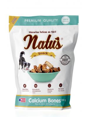 Snacks Natus Calcium Bones para Perros - ciudaddemascotas.com