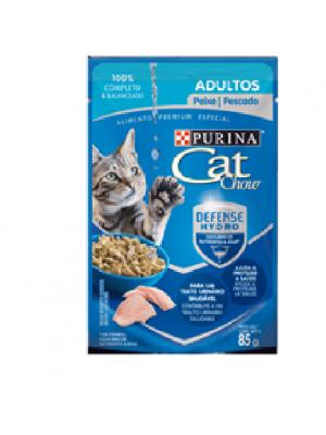 Comida húmeda para gato Cat Chow Pouch pescado - Ciudaddemascotas