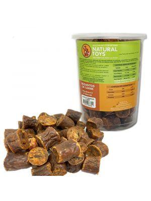 Snacks perros chorizo de carne deshidratada-ciudaddemascotas.com