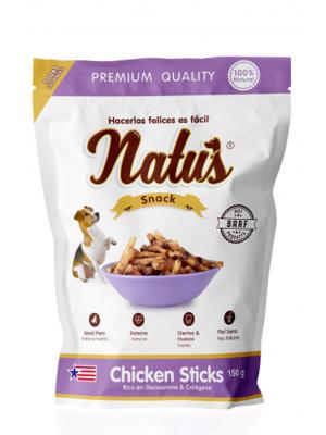 Snacks para perro Natus Snacks Chicken Sticks - Ciudaddemascotas