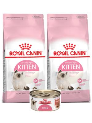 Comida para gato Royal Canin Kitten combo-Ciudaddemascotas.com