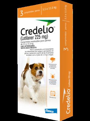 Antiparasitario Credelio Perro 5,5 a 11 kg - Ciudaddemascotas.com