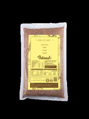 Comida PETMEAL SABOR DELIFLOR 500GR - Ciudaddemascotas.com