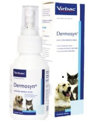 Dermosyn Loción Medicada Perros Gatos (100ml)