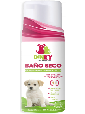 Baño Seco Dinky en Espupa Cachorros - Ciudaddemascotas.com