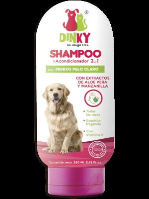 Shampoo Dinky Para Perros Pelaje Claro - Ciudaddemascotas.com