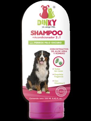Shampoo Dinky Para Perros Pelaje Oscuro - Ciudaddemascotas.com