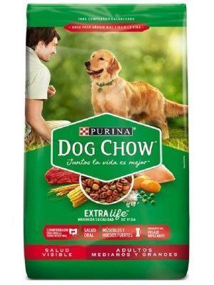 Comida Dog Chow Salud Visible Adultos - ciudaddemascotas.com
