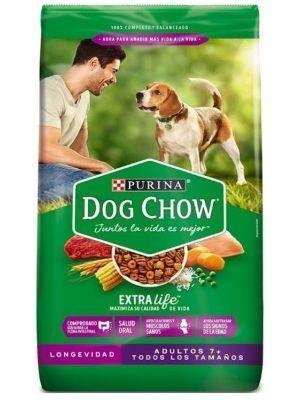 Comida DogChow Adultos Mayores Senior - ciudaddemascotas.com
