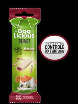 DOG LICIOUS BONE BACON 80GR