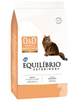 Comida Equilibrio Gato Veterinary Obesity - Ciudaddemascotas.com