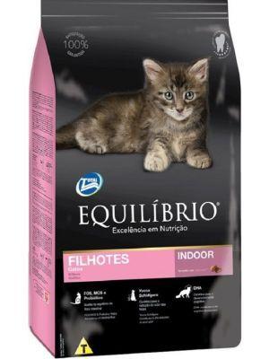 Comida para Gato Equilibrio Filhotes-Ciudaddemascotas.com