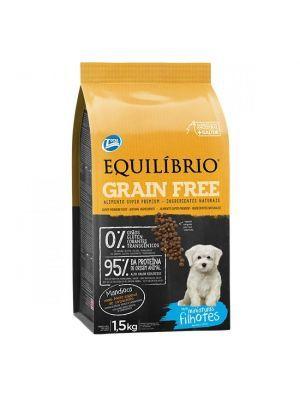 Equilibrio Perro Mini Grain Free Filhotes  1,5KG - PRSR