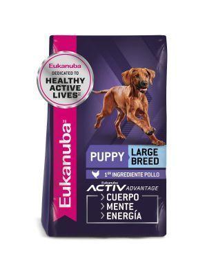 Comida Eukanuba Puppy Large Breed 7.26 Kg - Ciudaddemascotas.com