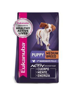 Comida para Perro Eukanuba Puppy Medium-Ciudaddemascotas.com