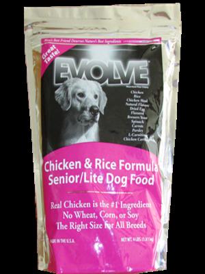 Evolve Dog Senior Chicken and Rice
