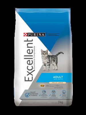 Excellent Adult Cat 1 kg - Ciudaddemascotas.com