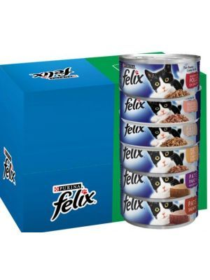 Felix en lata sabores surtidos x 6 unidades-Ciudaddemascotas.com