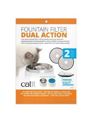 Filtro de fuente de agua para gatos Catit - Ciudaddemascotas