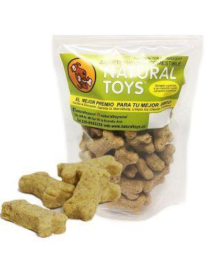 Snacks perro Galletas Huesitos fibra y salvado-Ciudaddemascotas