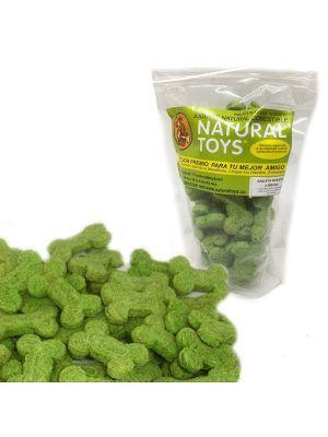 Snacks perro Galletas de menta y fibra natural - Ciudaddemascotas