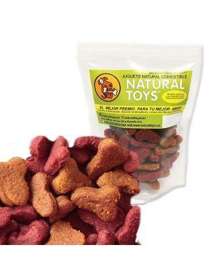 Snacks para perro Gomitas con omega Natural Toys-Ciudaddemascotas