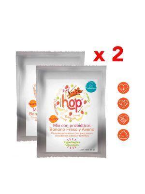 Hop Mix Probióticos para Perros Frutas x 15 gr x 2 und