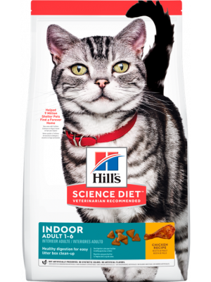 Hill's Gato Adulto Indoor 1,6 Kg
