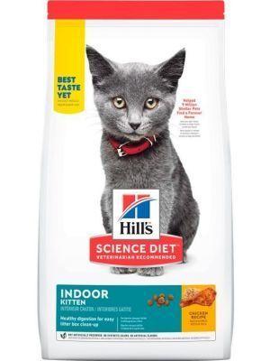 Hills Gato Indoor Kitten Chicken x 3,17 Kg-Ciudaddemascotas.com