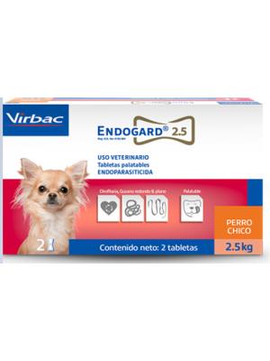 Endogard Antiparasitario Perros Pequeños-Ciudaddemascotas.com