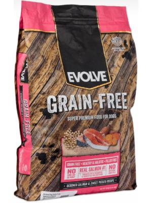 Evolve Dog Grain Free Salmon