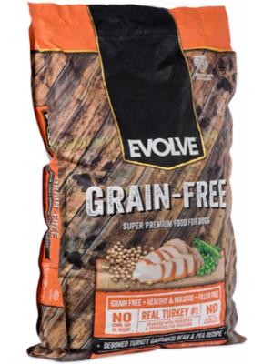 Evolve Dog Grain Free Pavo