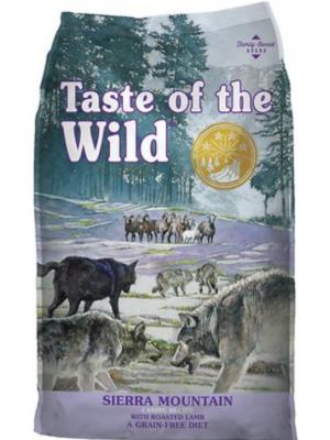 Comida Taste Of The Wild Sierra Mountain - ciudaddemascotas.com