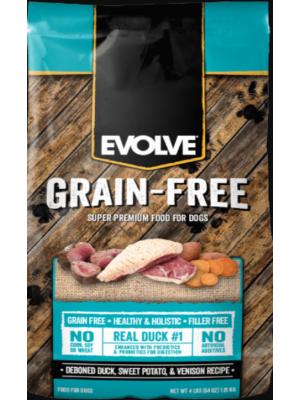 Evolve Dog Grain Free Duck