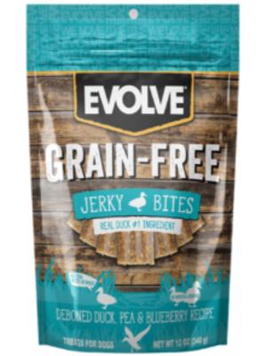 Snack Evolve Snack Grain Free Jerky Duck - Ciudaddemascotas.com